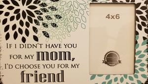Other - Mother's Day frame with saying NWT